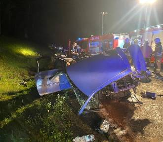 Tragiczny wypadek w Babim Dole. Nie żyje 34-letni kierowca audi