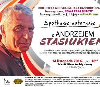 Andrzej Stasiuk przyjedzie do Inowrocławia [zaproszenie]