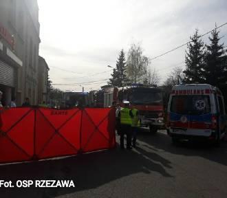 Wypadek w Rzezawie. Sprawca trafi na trzy miesiące do aresztu tymczasowego