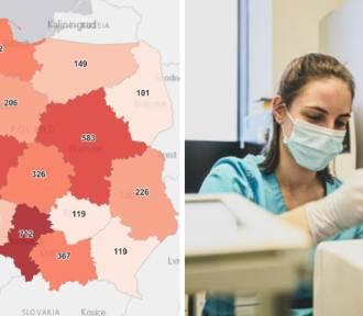 Koronawirus: W Śląskiem znów najwięcej nowych zakażeń i zgonów