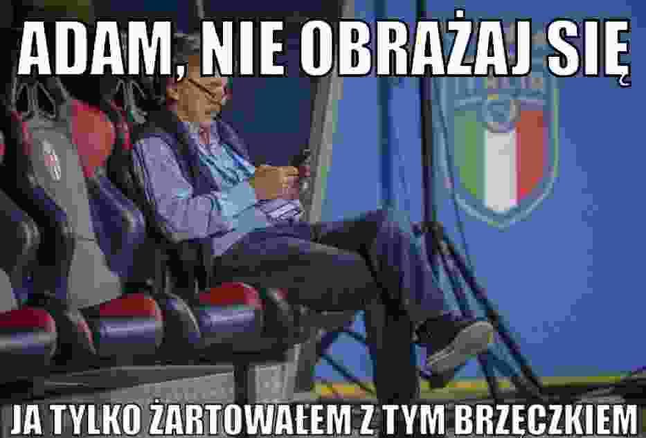 Najlepsze memy po meczy Włochy - Polska