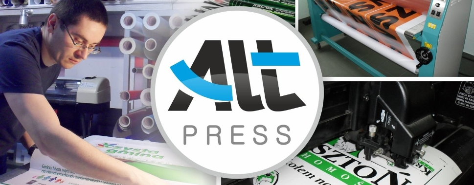 Studio graficzne i pracownia reklamowa ALT-PRESS Kędzierzyn