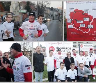 Ultramaratończyk Andrzej Urbaniak dotarł do Włocławka. Biegnie na trasie o długości 500 km [zdjęcia]
