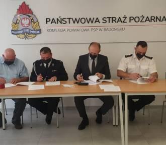 OSP Gowarzów i OSP Dąbrówka w Krajowym Systemie Ratowniczo-Gaśniczym
