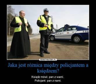 Najlepsze memy o policjantach z drogówki