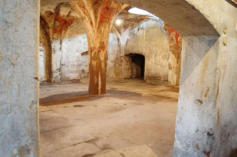 Piwnice dawnego browaru Weigta w Kaliszu