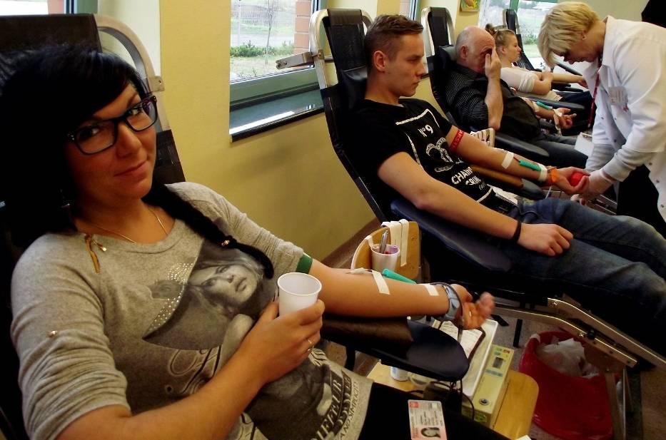 Oddają własą krew, dobrowolnie i bezinteresownie