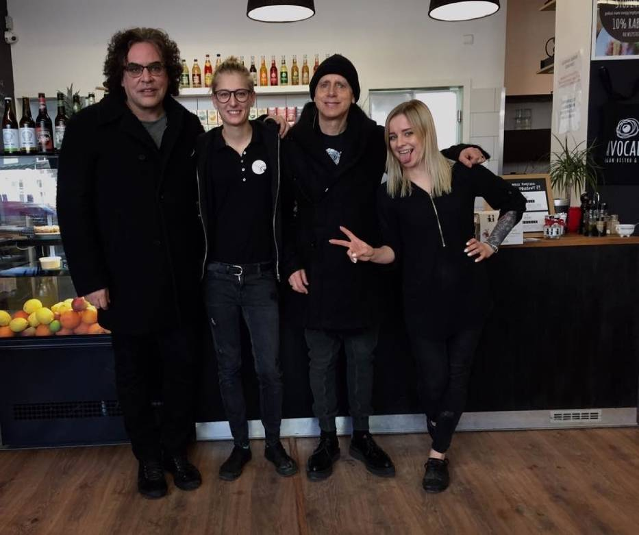 Muzycy Depeche Mode dwukrotnie gościli w bistro na gdańskim Przymorzu
