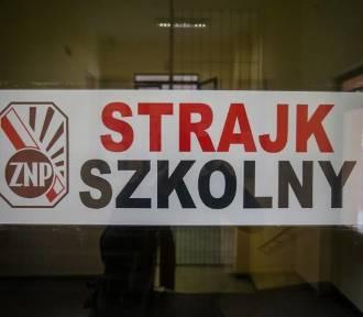 Drugi tydzień strajku nauczycieli w powiecie łęczyckim