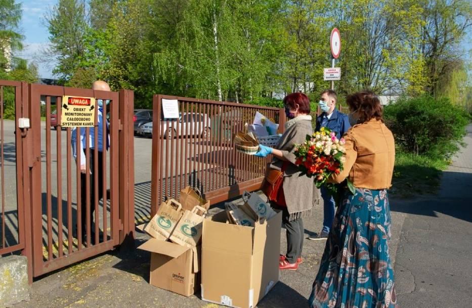 Radni wspierają personel bytomskiego domu pomocy społecznej