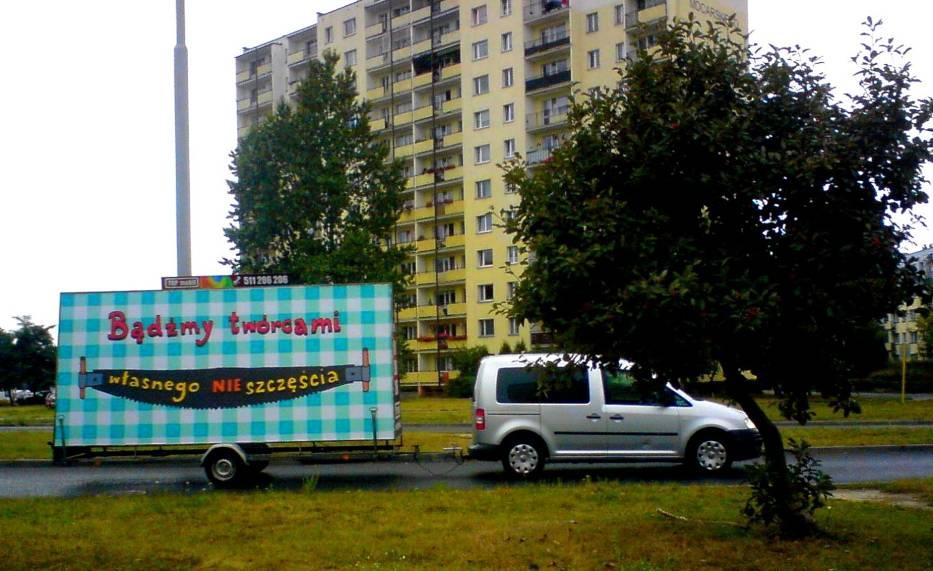 Międzynarodowy Festiwal Sztuki na Bilbordach Art Moves w Toruniu