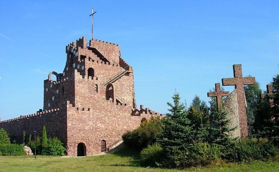 Sanktuarium w Kałkowie - Godowie: Golgota