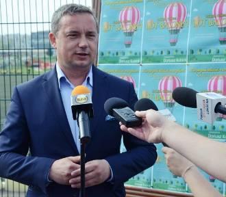 Poseł Dariusz Kubiak funduje lot balonem z okazji Dnia Dziecka