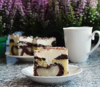 Ciasto z gruszkami i kremem. Zobacz nasz przepis