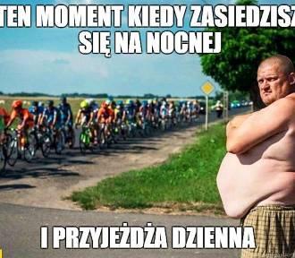 Tour de Pologne 2020. Memy o kolarstwie i kibicach