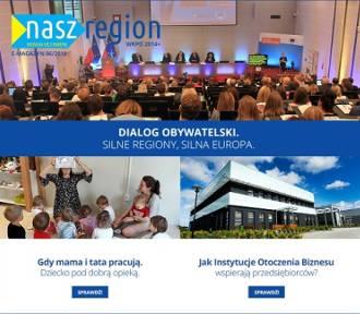 """Wielkopolska w UE! Czytaj nowy e-magazyn """"Nasz Region"""""""
