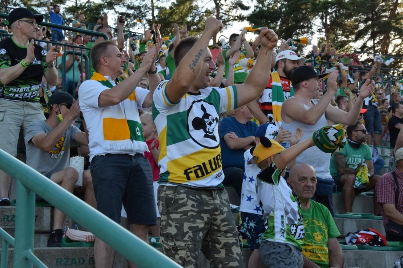 Kibice RM Solar Falubazu Zielona Góra wspaniale dopingowali zielonogórskich żużlowców w meczu z PGG ROW-em Rybnik