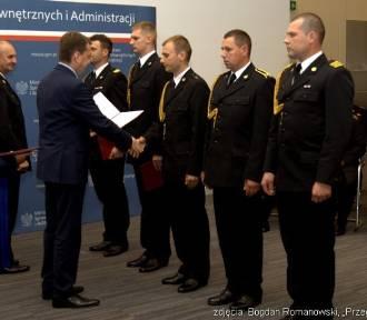 Strażacy z województwa śląskiego wyróżnieni