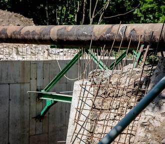 Wałbrzych: Trwa przebudowa mostu na starej części ulicy Wieniawskiego (ZDJĘCIA)
