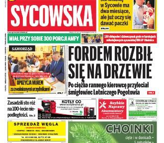 """Nowa """"Gazeta Sycowska"""" już w kioskach i do nabycia na www.prasa24.pl"""