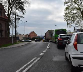 Krosno Odrzańskie: Ulice znów zakorkowane przez remont drogi krajowej