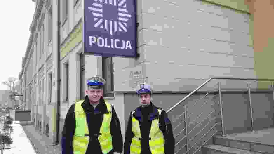 Policjanci po służbie