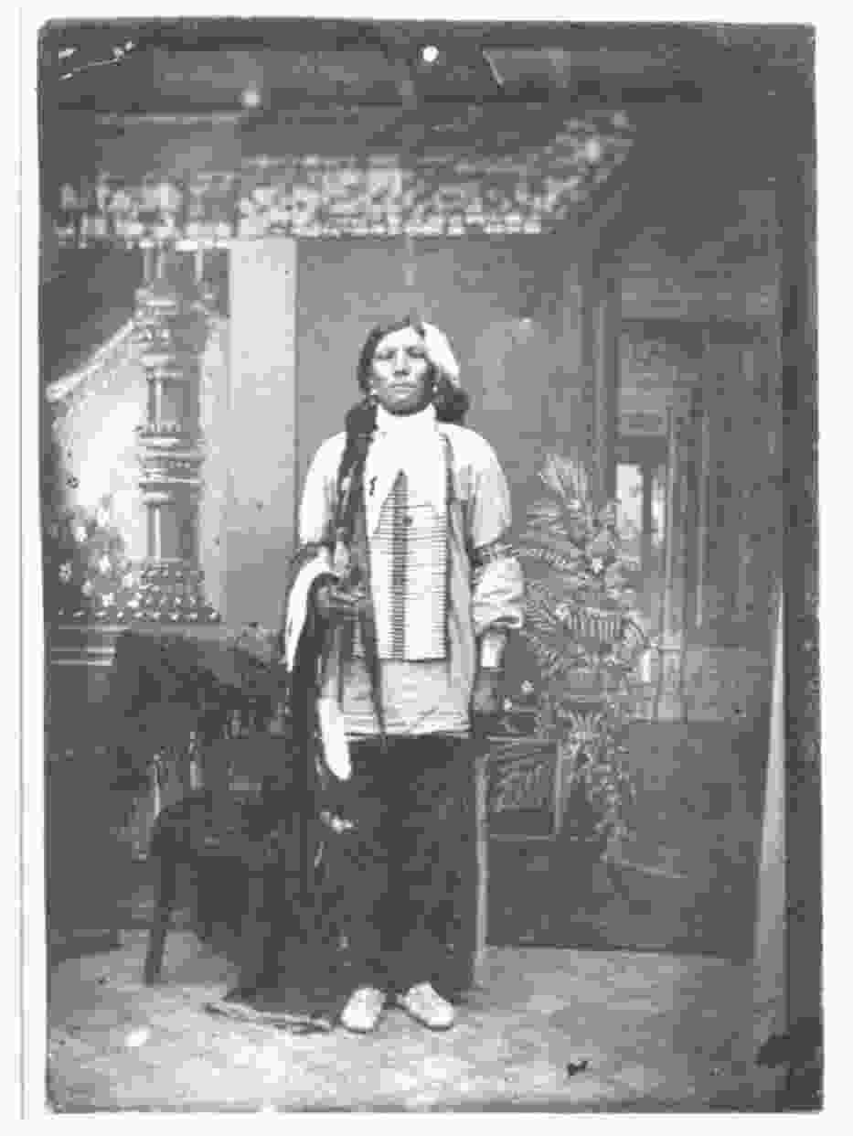 Crazy Horse in 1877