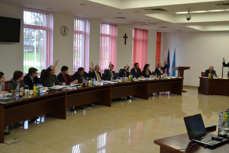 Sesja Rady Powiatu w Bieruniu