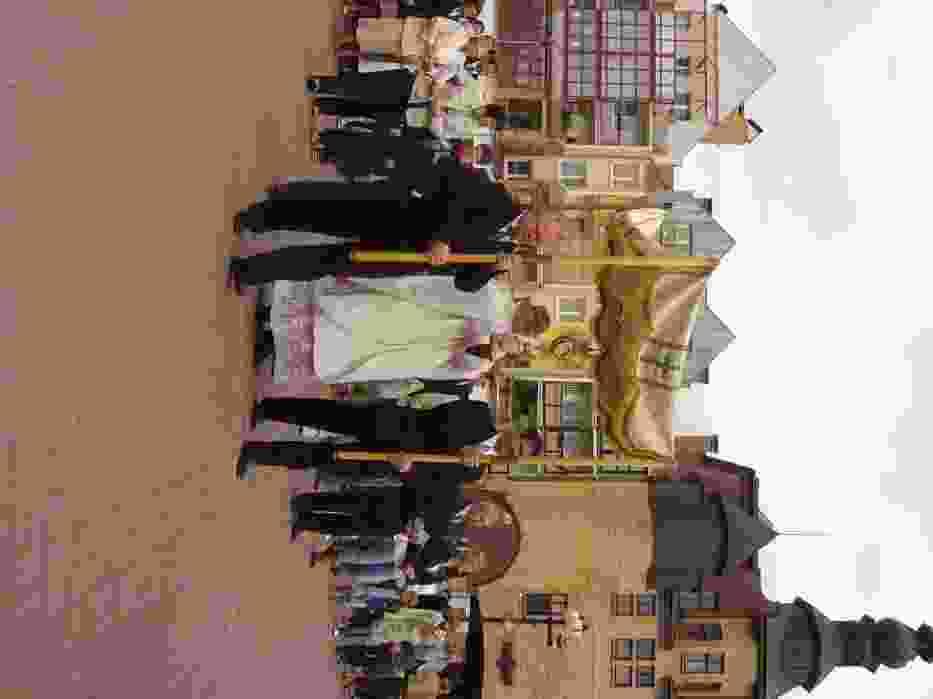 Procesja rusza z placu Nowego Rynku