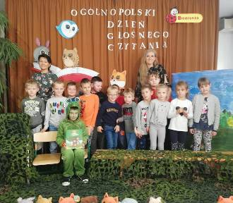 Ogólnopolski Dzień Głośnego czytania w Szkole Podstawowej nr 2 w Stargardzie [ZDJĘCIA]