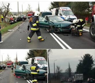 Dwa auta do kasacji! Poważny wypadek w Zebrzydowicach