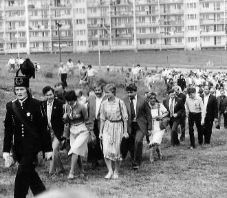 Dożynki w Jastrzębiu 40 lat temu! Setki mieszkańców bawiło się we wrześniu 1981 roku
