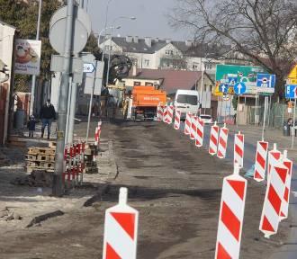 Największa inwestycja drogowa ostatnich lat w Kaliszu rozpoczęta. ZDJĘCIA