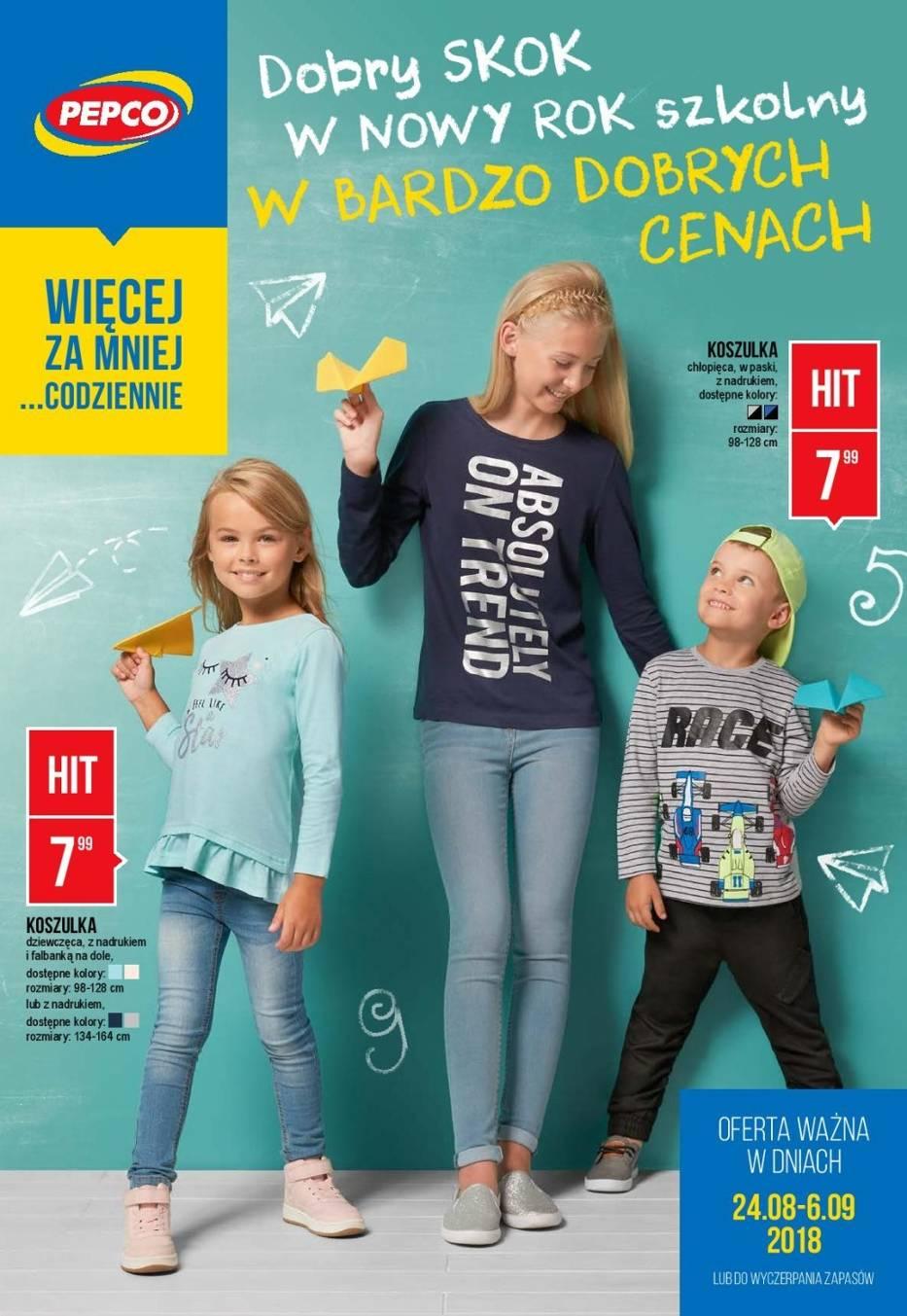 Wyprawka szkolna 2018 - ceny w sklepach Biedronka, Pepco, Carrefour, Kaufland, Tesco... GAZETKA