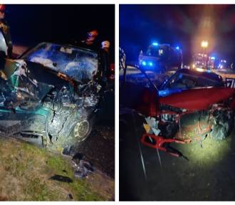 Pijany kierowca mitsubishi uderzył w seata z 22-letnią kobietą w ciąży [zdjęcia]