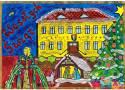 Otyń. Dzięki dzieciom z Otynia mamy już świąteczną atmosferę. Zobaczcie te prace. Wyszły przepiękne kartki pocztowe