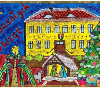 Dzięki dzieciom z Otynia mamy już świąteczną atmosferę. Wyszły przepiękne pocztówki