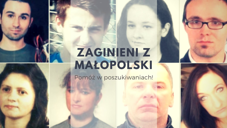 Zaginieni z Małopolski 2018