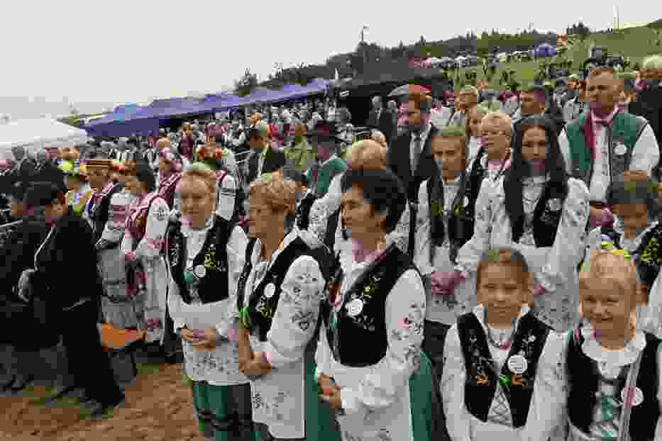 Dzień Jedności Kaszubów 2018 w Kosakowie: bicie rekordu w grze na akordeonach, baśka i spotkanie Kaszubów