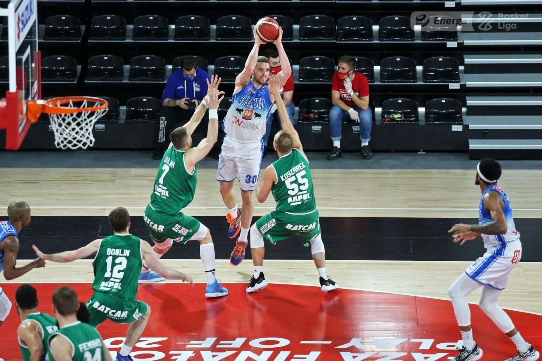 Koszykarze Enei Zastalu BC Zielona Góra przegrywają 1:3 ze Stalą Ostrów Wlkp