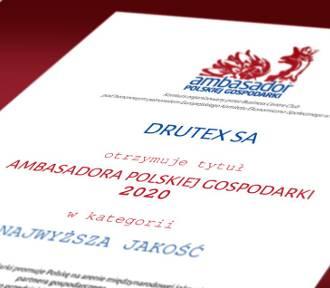 Drutex wyróżniony za jakość przez Business Centre Club