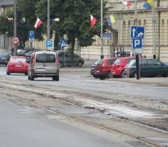 Kiedy kolejny etap remontu torowiska w Pabianicach? ZDJĘCIA