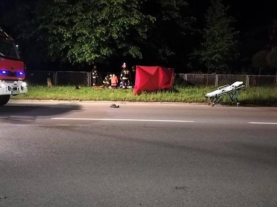 Śmiertelny wypadek w Knurowie. Zginął motocyklista [ZDJĘCIA]