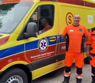 Szpital w Kaliszu wzbogacił się o nowy ambulans. ZDJĘCIA