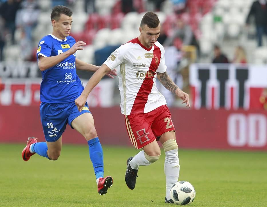 Urazy prześladują piłkarzy ŁKS Łódź
