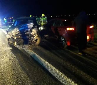 Wypadek na A1 niedaleko Tczewa