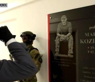 Mundurowi upamiętnili śmierć policjanta, który zginął podczas służby