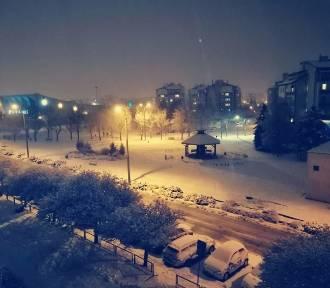 Do Kwidzyna zawitała zima! Miasto pod białą pierzyną w obiektywie Czytelników