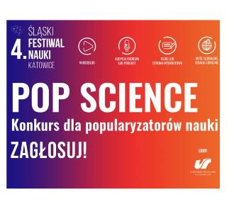 Zagłosuj na najlepszych popularyzatorów nauki w konkursie POP Science