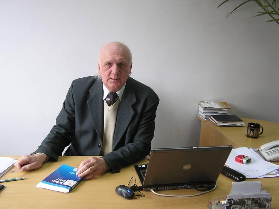 Eugeniusz Dąbrowski, kierownik elbląskiej inspekcji pracy